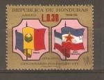 Stamps Honduras -  BANDERA  DE  RUMANIA   Y   SERBIA