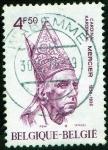 Stamps Belgium -  Cardinal Mercier