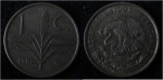 monedas de America - M�xico -  ESPIGA DE TRIGO