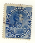 Sellos del Mundo : America : Venezuela : Simon Bolivar Ed 1893