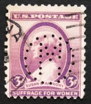 Stamps : America : United_States :  Susan B. Antony
