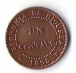 monedas de America - Chile -  ECONOMIA ES RIQUEZA