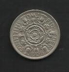 monedas del Mundo : Europa : Reino_Unido :  Elizabeth II / Reverso.