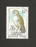 Sellos de Europa - Hungría -  Tyto alba