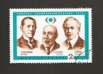 Stamps Hungary -  1er Congreso Oftamologos Budapest