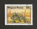 Stamps Hungary -  1ra Locomotora eléctrica de Siemens
