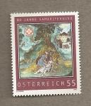 Sellos de Europa - Austria -  80 Aniv de la Uni�n de Samaritanos