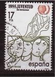 Sellos de Europa - España -  año intern. de la juventud
