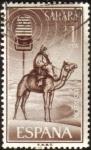Sellos de Europa - España -  SAHARA - Camello y microfono