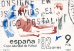 Sellos de Europa - España -  Copa Mundial de Futbol- ESPAÑA'82     (Q)
