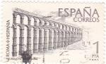 Stamps Spain -  ROMA-HISPANIA Acueducto de Segovia     (Q)