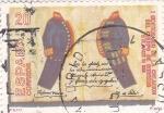 Sellos de Europa - España -  I Centenario de la Creación del Cuerpo de Correos     (Q)