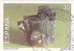 Stamps Spain -  MINERALES DE ESPAÑA- Aragonito    (Q)