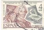Stamps Spain -  Sociedades Económicas de Amigos del País    (Q)