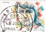 Sellos de Europa - España -  MUJERES FAMOSAS ESPAÑOLAS- María Maeztu- Pedagoga    (Q)