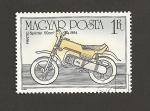 Stamps Hungary -  Motocicleta Fantic Sprinter