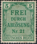 Stamps : Europe : Germany :  EMISIÓN DE PRUSIA 1903. Y&T Nº S3