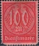 Stamps : Europe : Germany :  CIFRAS 1922-23. Y&T Nº S36