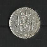 monedas de Europa - España -  Alfonso XII / reverso./ 1882
