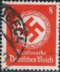 Stamps : Europe : Germany :  CRUZ GAMADA 1942 SIN FILIGRANA. Y&T Nº 131