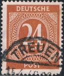 Sellos del Mundo : Europa : Alemania : OCUPACIÓN INTERALIADA. CIFRAS 1946. Y&T Nº AAS15