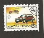 Stamps Hungary -  Renault 5 Turbo 1985