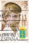 Sellos de Europa - España -  Felipe de Borbón, Príncipe de Asturias    (Q)