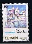 Stamps Spain -  Edifil  3291  Pintura española. Obras de Salvador Dalí.