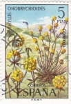 Stamps Spain -  FLORA- Anthyllis Onobrychioides   (Q)