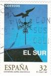Sellos de Europa - España -  Cine Español- EL SUR    (Q)