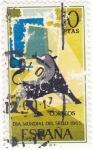 Sellos de Europa - España -  Día Mundial del sello-1965     (Q)