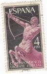 Stamps Spain -  Alegorías- Centauro    (Q)