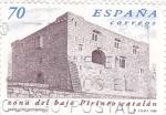 Sellos de Europa - España -  ZONA DEL BAJO PIRINEO CATALÁN- Castillo de Oix (Girona)    (Q)