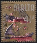 Stamps : Europe : Malta :  Barco