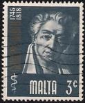 Stamps Malta -  Giuseppe Barth