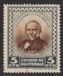 Sellos de America - Guatemala -  ROWLAND HILL