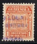 Sellos de America - Guatemala -  ARCO PALACIO DE COMUNICACIONES.