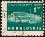 Stamps Bulgaria -  Estadio