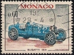 Stamps Europe - Monaco -  Bugatti 1931