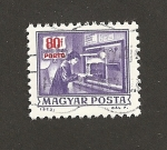Stamps Hungary -  Porto