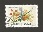 Sellos de Europa - Hungría -  Ramos florales