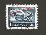 Sellos de Europa - Hungría -  Seamos amistosos en el tráfico