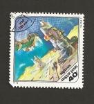 Stamps Hungary -  Nave espacial Luna