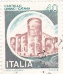 Stamps Italy -  CASTELLO  URSINO - Catania