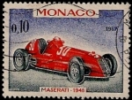 Stamps Europe - Monaco -  Maserati 1948