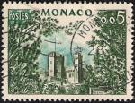 Stamps Monaco -  Castillo