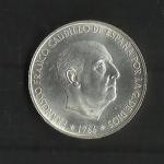 monedas de Europa - España -  F.Franco / Estado Español / anverso.