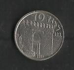 monedas de Europa - España -  Error / Seneca / reverso.