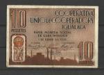 Monedas de  -  -  Billetes Guerra Civil Española