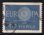 Sellos de Europa - Suecia -  EUROPA